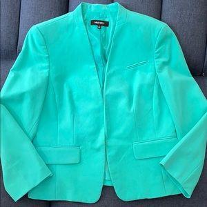 Nine West Blue Turquoise Blazer with Closure!